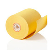 "3 7/16"" X 165' Canary Bond 50 rolls/case"