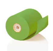 "3 1/8"" x 230' Green Thermal Paper Roll 50 rolls/case"