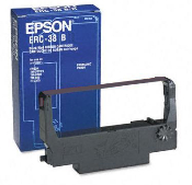 Epson Brand ERC-30/34/38 Cartridge Ribbon, 10/Bx