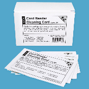 Credit Card Cleaning Cards DBL-Sided 50/Bx
