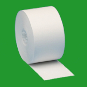 "1 3/4"" (44mm)  X 150 Recycled Bond 100 Rolls/Case"