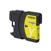 Brother LC-61Y Compatible Inkjet Cartridge, Yellow, 1/Bx