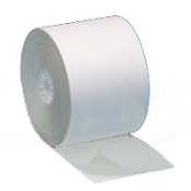 "2 1/4"" X 55' 2 PLY Ribbonless WHT/WHT 50/CS"