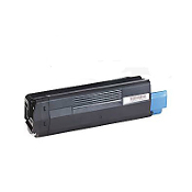 Okidata C5100, C5300 Compatible Toner Cartridge, Cyan, 1/Bx
