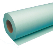 "30"" x 500' Wide Format Blue 20lb Bond Paper Roll, 2/Case"