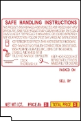 TEC SL-66-30/SL-6600 12 Line Ctr Code Safe-hand Yellow/Red