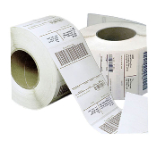 "2.25"" X 1.5"" Thermal Transfer Label, Perforated, 4308/Rl, 4/Cs"