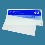 "Check Scanner Cleaning Card 4.375 X 8"" 25/Bx"