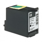 HP C6602A POS Inkjet Cartridge, Black, 1/Bx