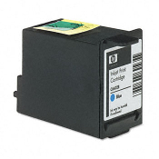 HP C6602B POS Inkjet Cartridge, Blue, 1/Bx