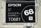 Epson T068120 Compatible Inkjet Cartridge, Black, 1/Bx