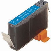 Canon BCI-3EC Compatible Inkjet Cartridge, Cyan, 1/Bx
