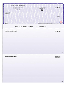 "QuickBooks 8.5 X 11"" General Purpose Checks, No/Lines, 250/Bx"