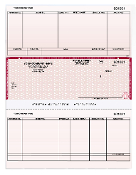 "PeachTree 8.5 X 11"" Accounts Payable Laser Checks, 250/Bx"