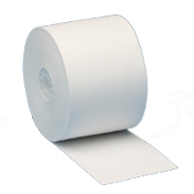 "2 1/4"" X 150' White Bond 50 rolls/case"