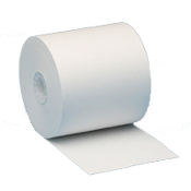"3 1/4"" X 165' White Bond 50 rolls/case"