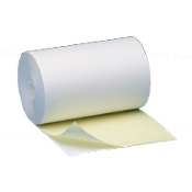 "4 1/2"" X 85' 2 PLY White/Canary 25 rolls/case"