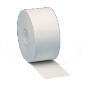 "1 1/2"" (38MM) X 165' BPA-Free Thermal Paper Rolls 100/Case"