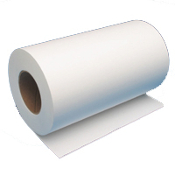 "11"" x 500' Wide Format 20lb Bond Paper Roll, 4/Case"