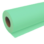 "30"" x 500' Wide Format Green 20lb Bond Paper Roll, 2/Case"