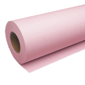 "30"" x 500' Wide Format Pink 20lb Bond Paper Roll, 2/Case"